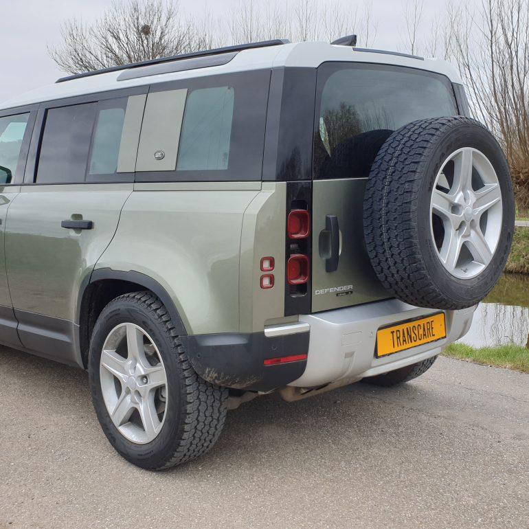 Land Rover Defender 110 >2020 - Grijs Kenteken ombouw ...